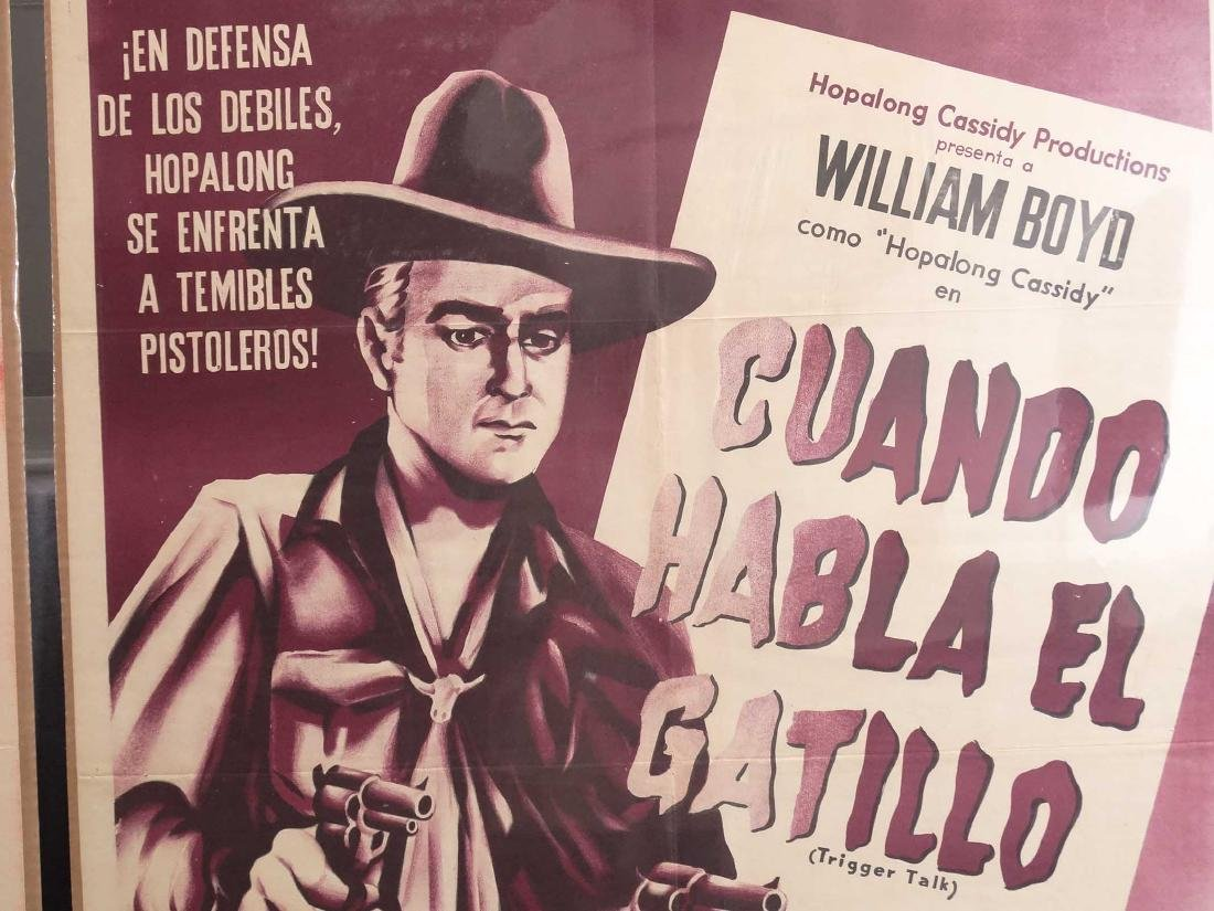 Hopalong Cassidy Movie Posters - 4