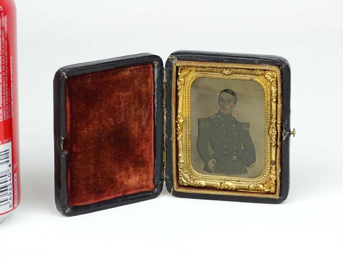 Ambrotype Of Major Robert Anderson (Fort Sumter)