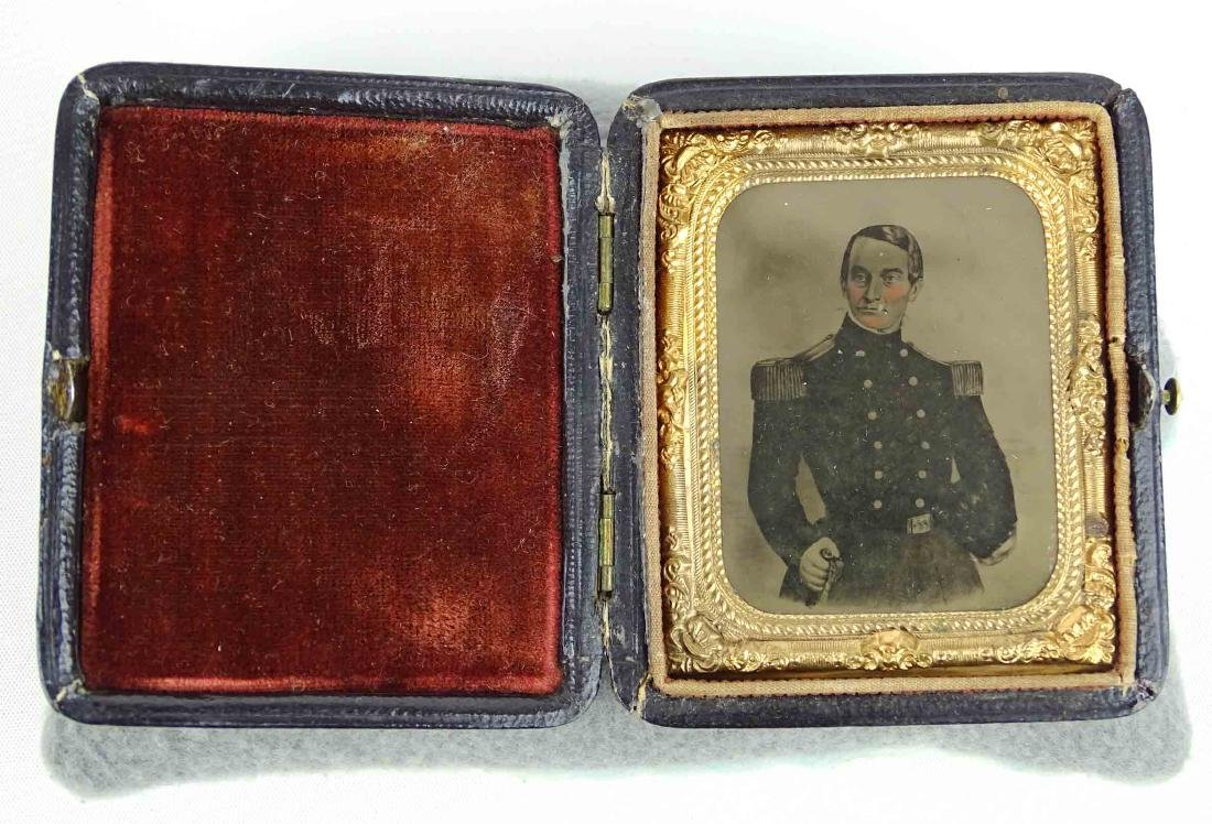 Ambrotype Of Major Robert Anderson (Fort Sumter) - 2