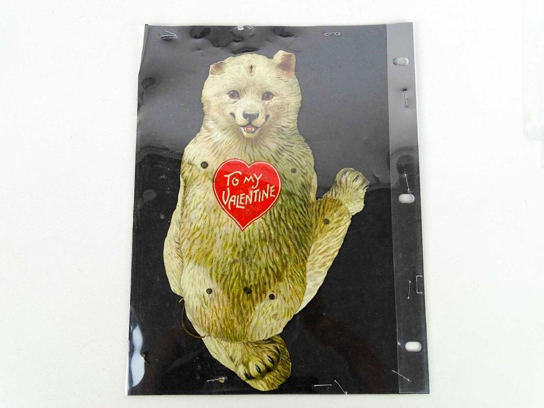Teddy Bear Postcards & Valentine - 4