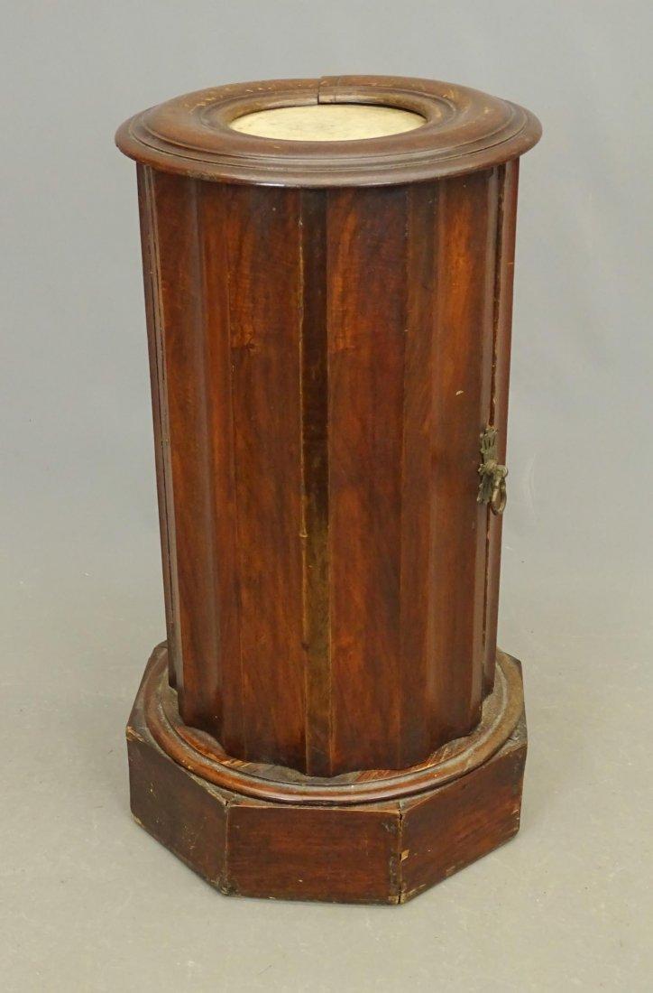 19th c. Pedestal Cabinet