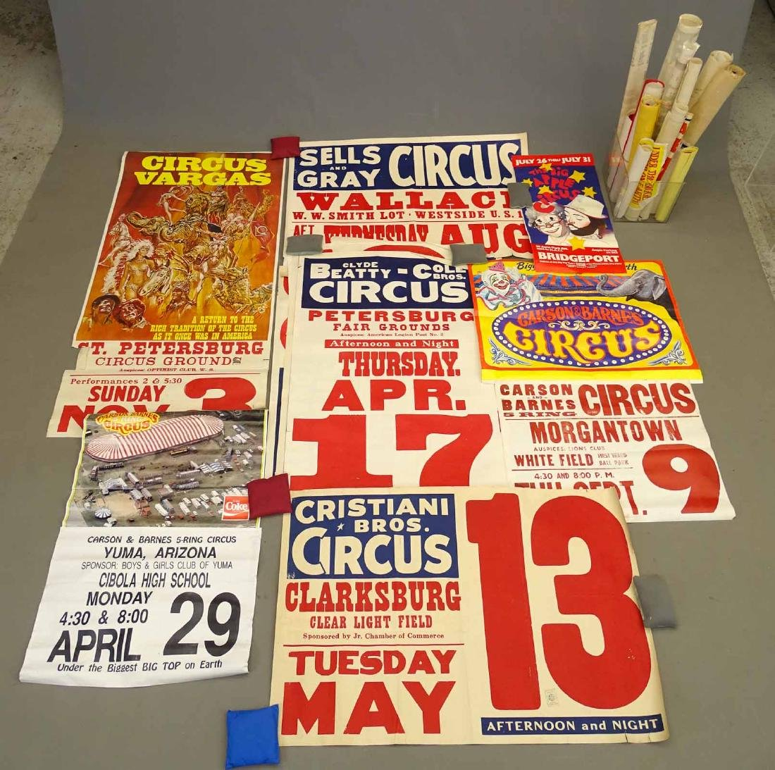 Collection Of Circus Posters