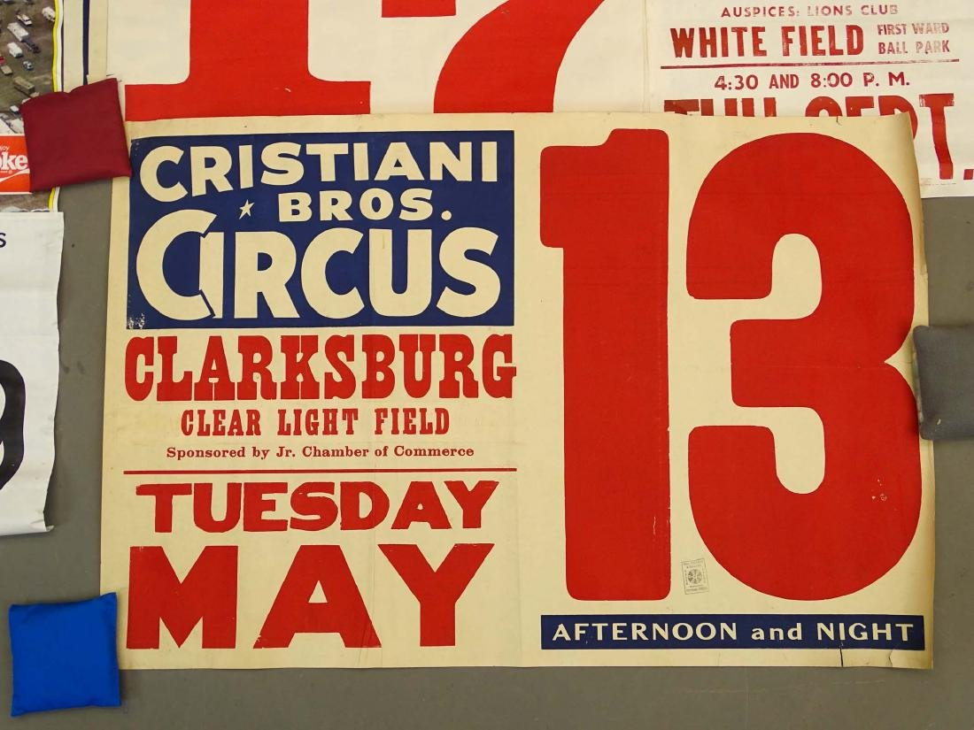 Collection Of Circus Posters - 4