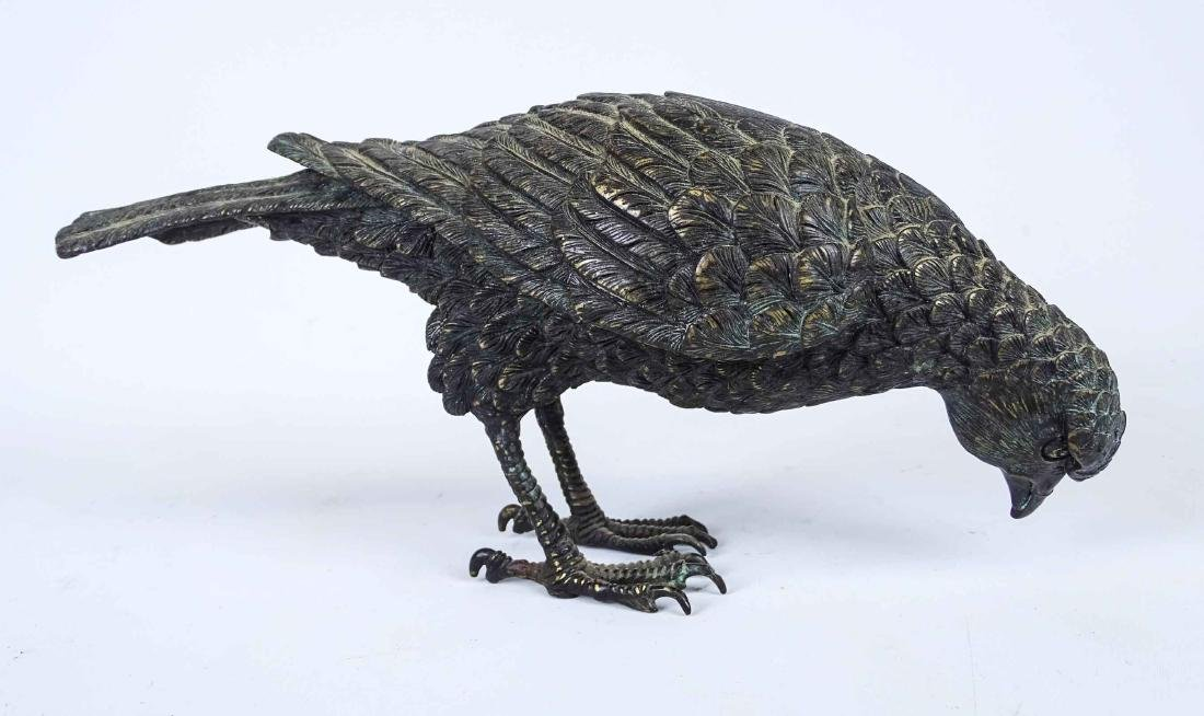 Japanese Bronze Hawk - 4