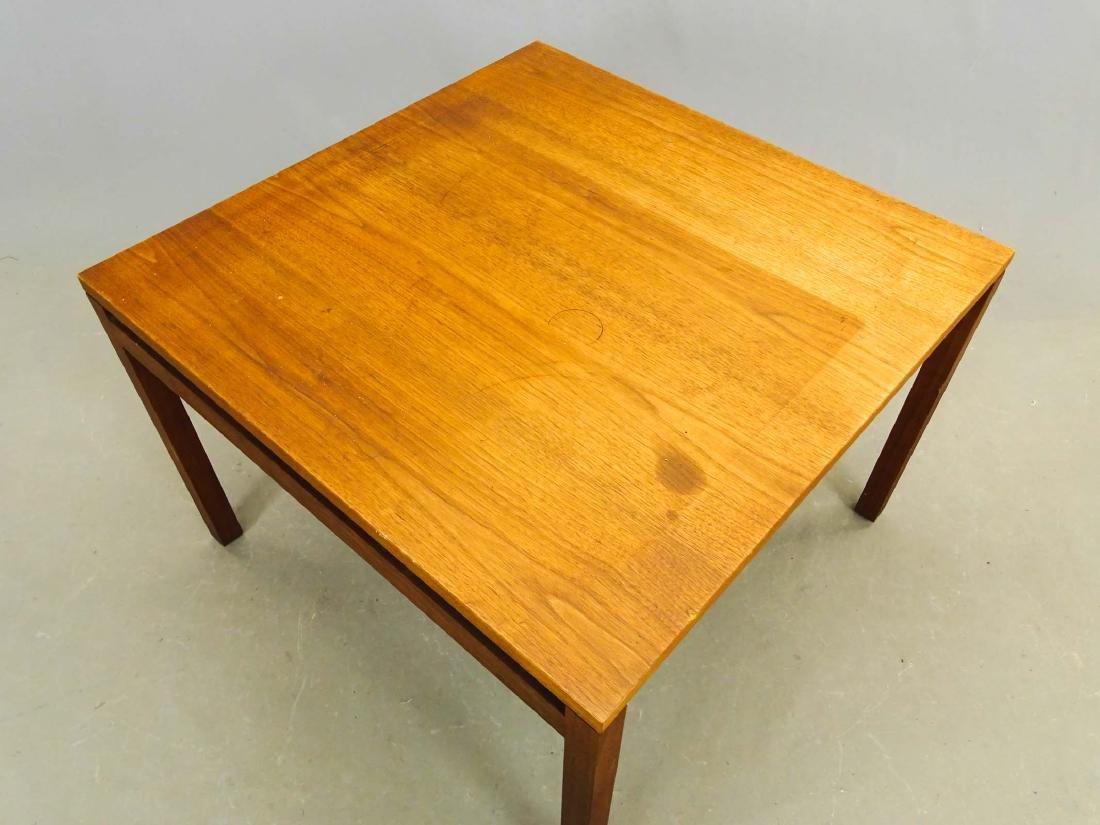 Mid Century Knoll Teak Table - 2