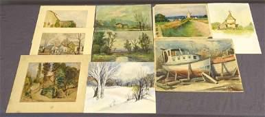Lot Of Original Artwork