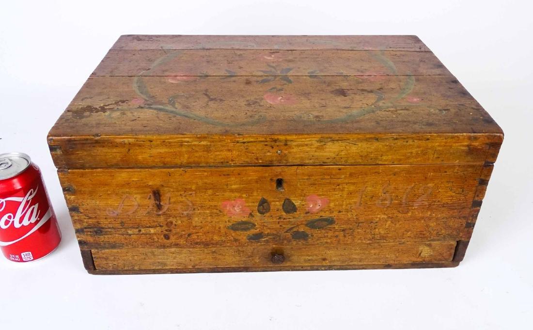 19th c. Cigar Cutting Box