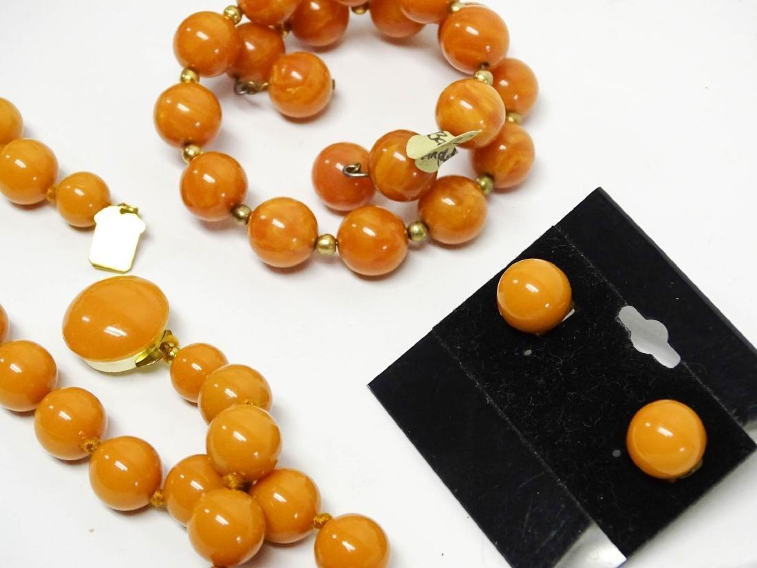 Lot of Bakelite Jewelry - 4