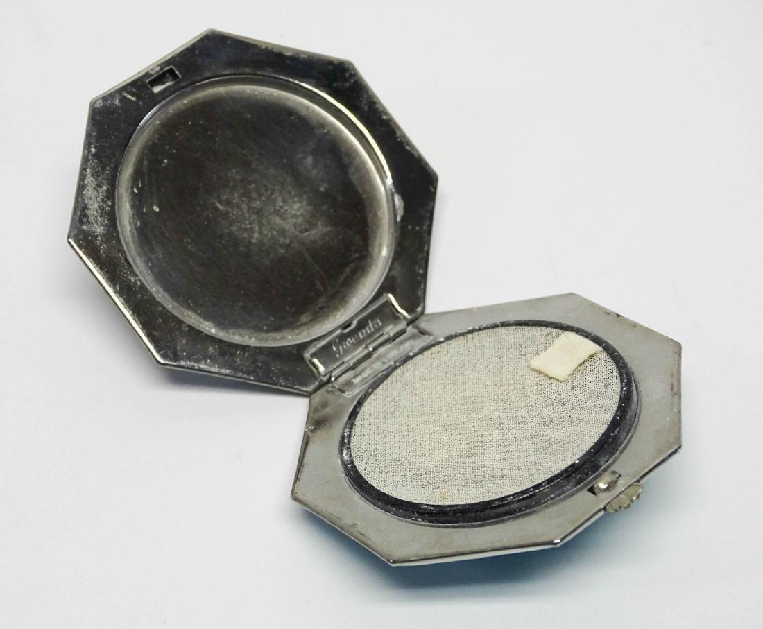 Vintage 1920-40's Compacts & Cigarette Case - 10