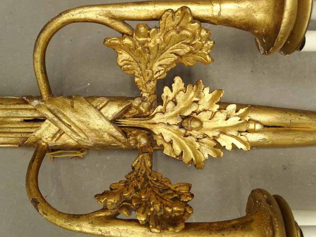 Pair Wall Sconces - 4