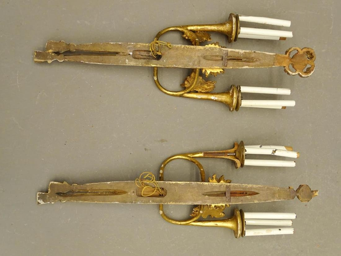 Pair Wall Sconces - 6