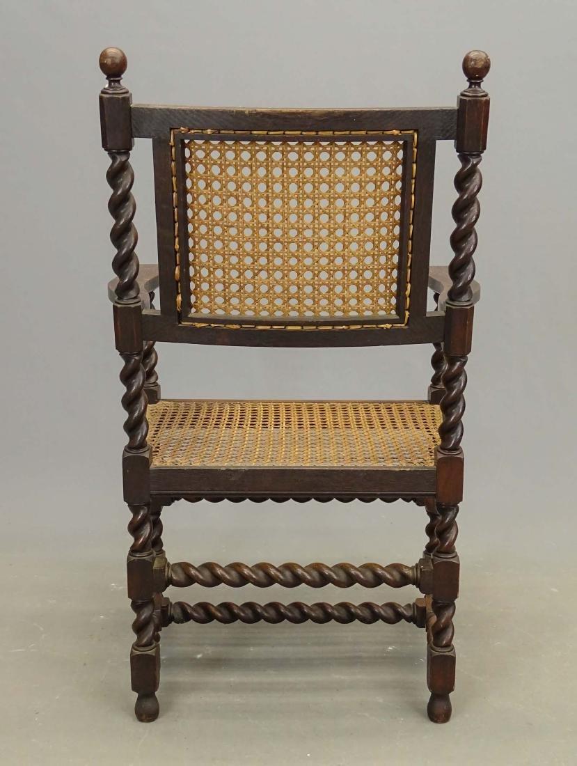 Oak Armchair - 3