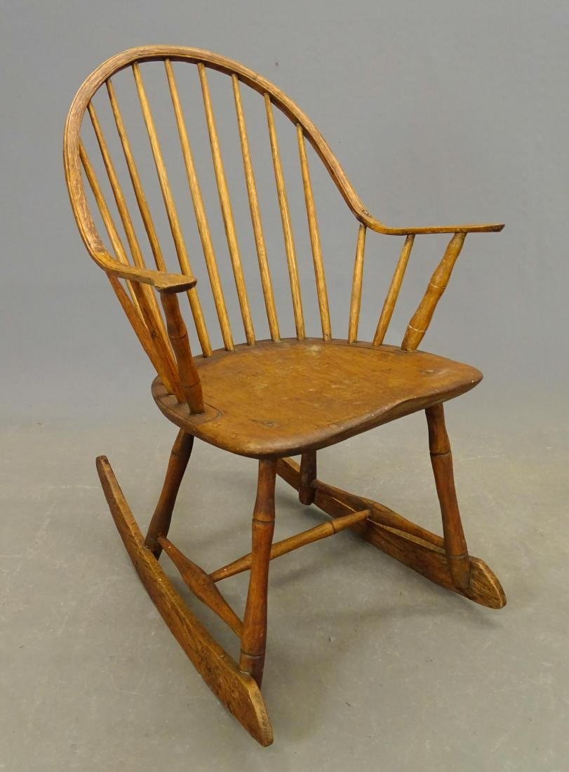 (2) 19th c. Windsor Rocking Chairs - 2