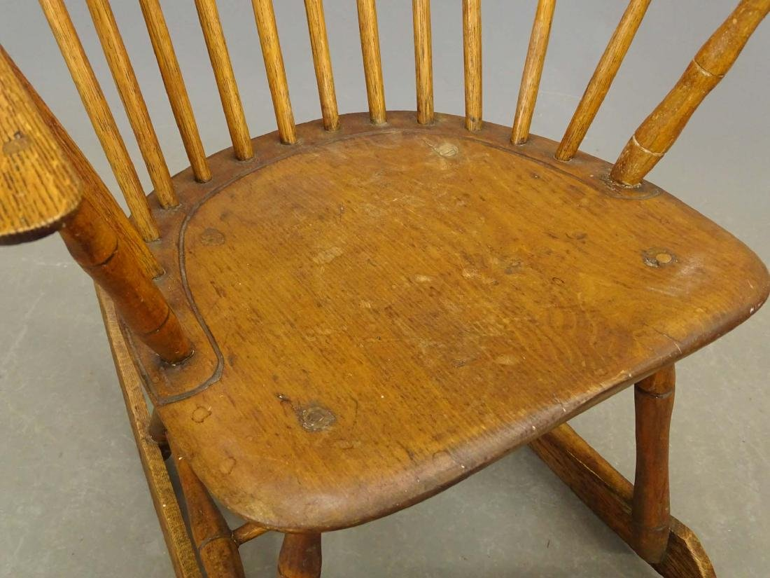 (2) 19th c. Windsor Rocking Chairs - 3