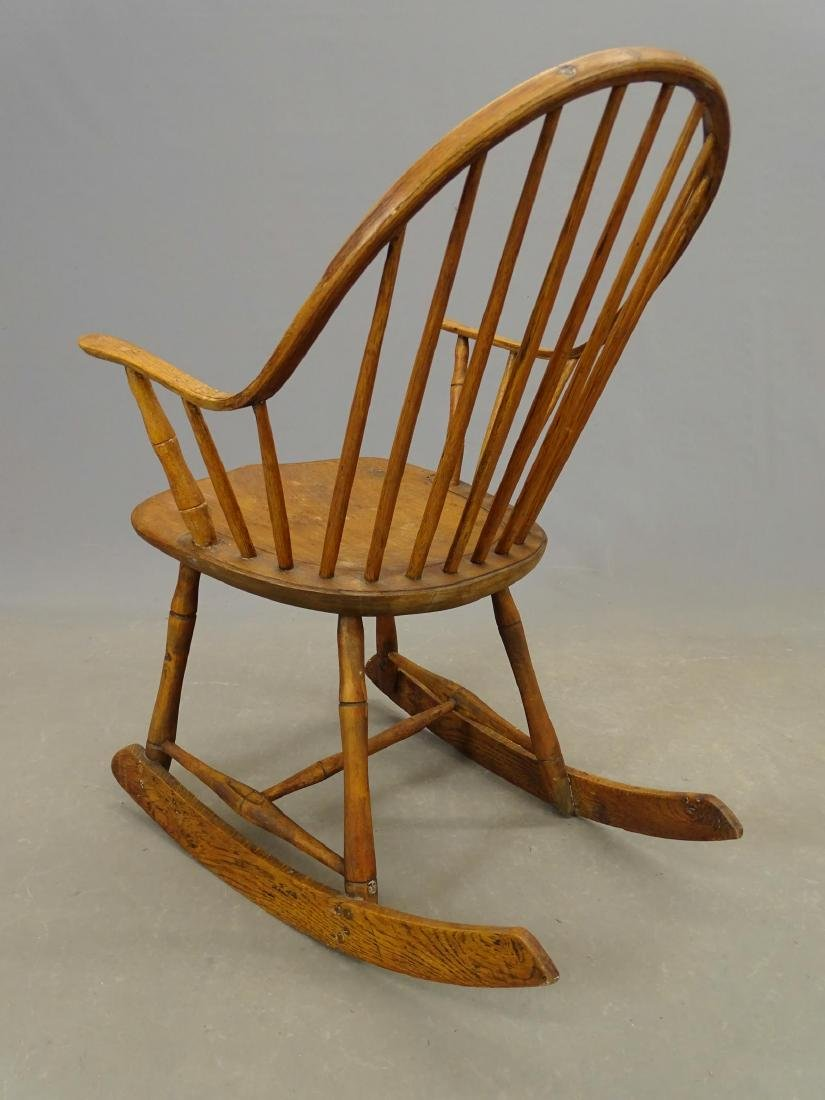 (2) 19th c. Windsor Rocking Chairs - 5
