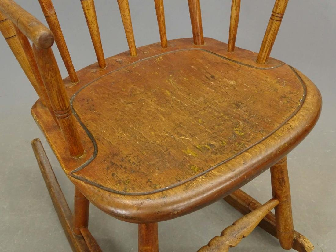 (2) 19th c. Windsor Rocking Chairs - 7