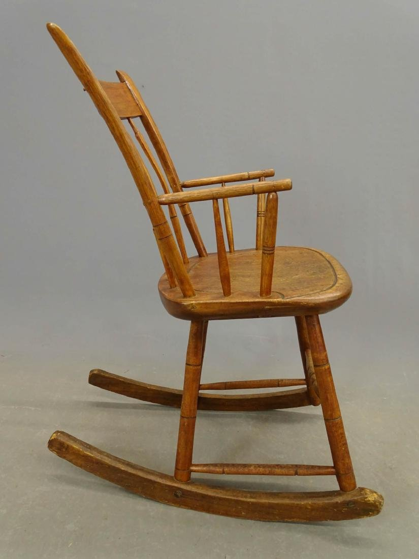 (2) 19th c. Windsor Rocking Chairs - 8