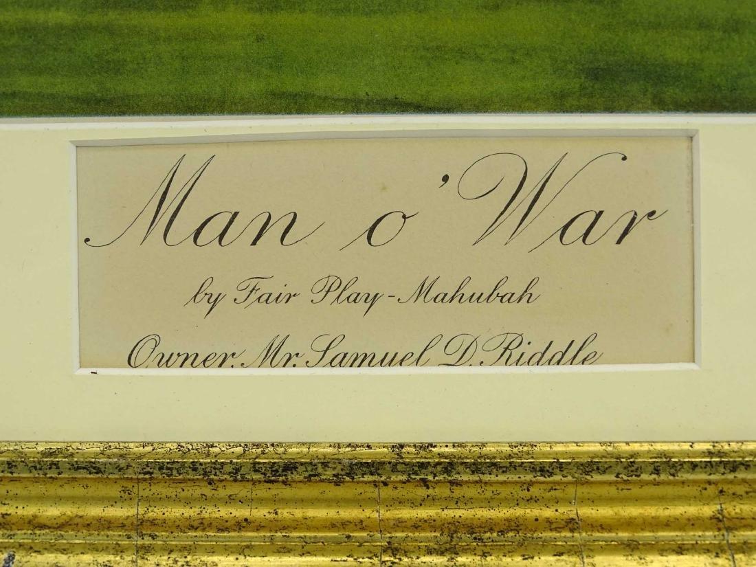 "Print ""Man O' War"" - 3"