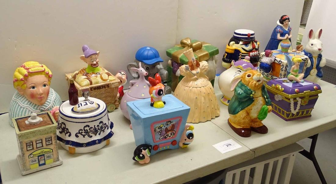 Cookie Jar Collection - 2
