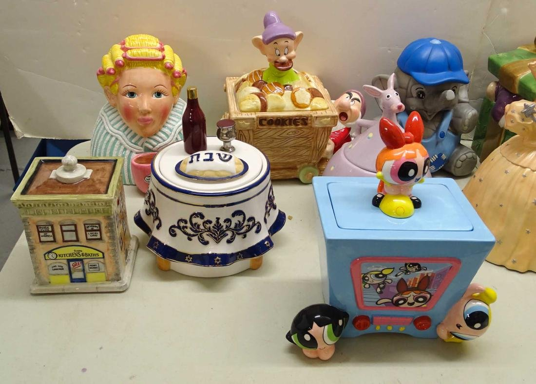 Cookie Jar Collection - 3
