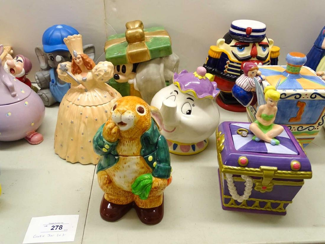 Cookie Jar Collection - 4