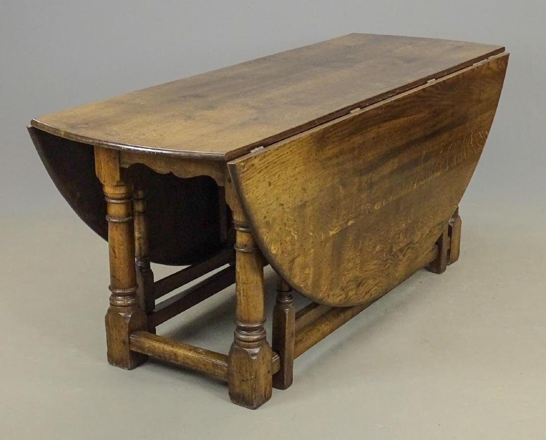 English Jacobean Style Dining Table