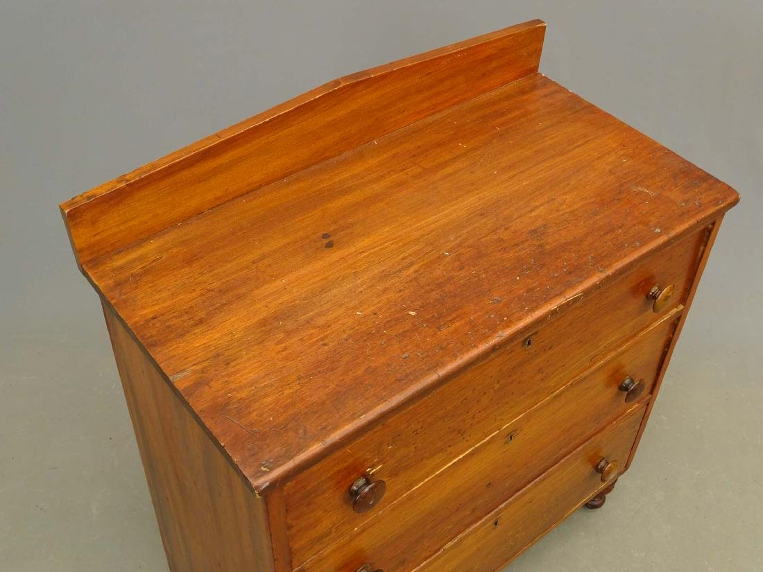 19th c. Pine Chest Of Drawers - 2