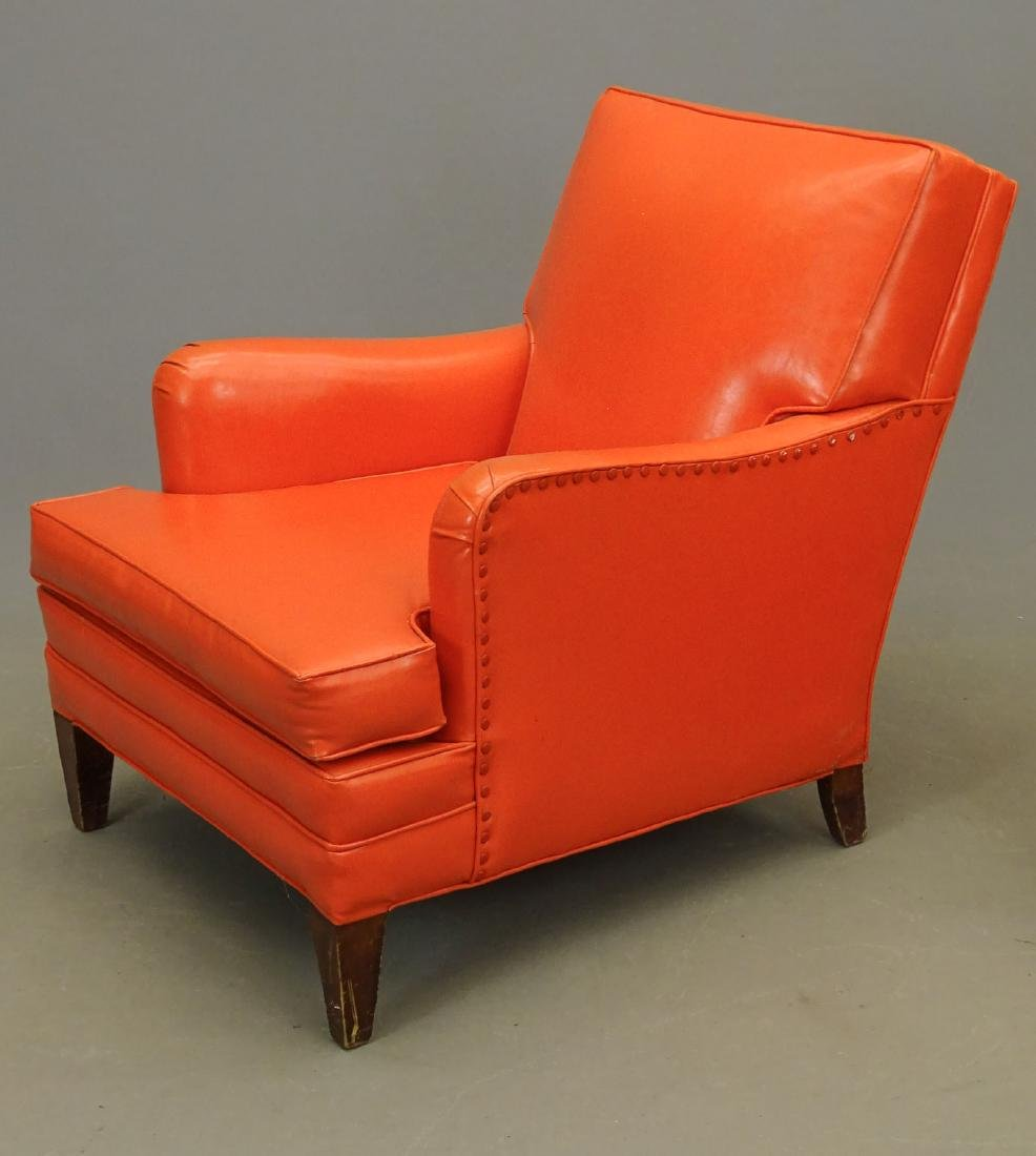 Club Chair With Ottoman - 2