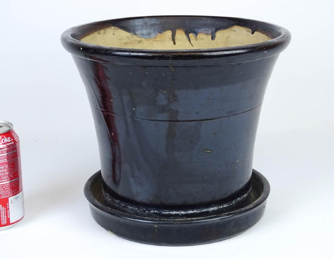 19th c. Stoneware Planter