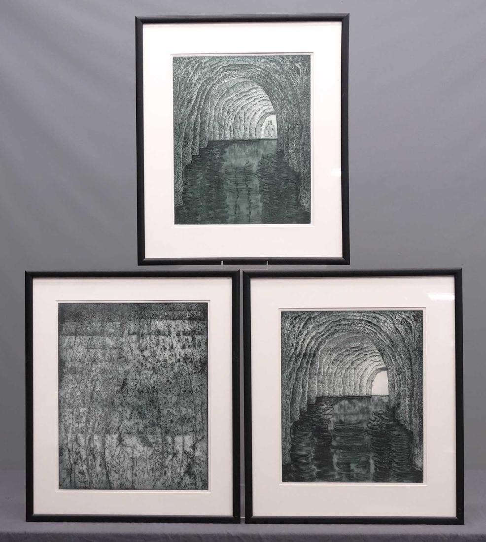 Lot (3) Framed Prints
