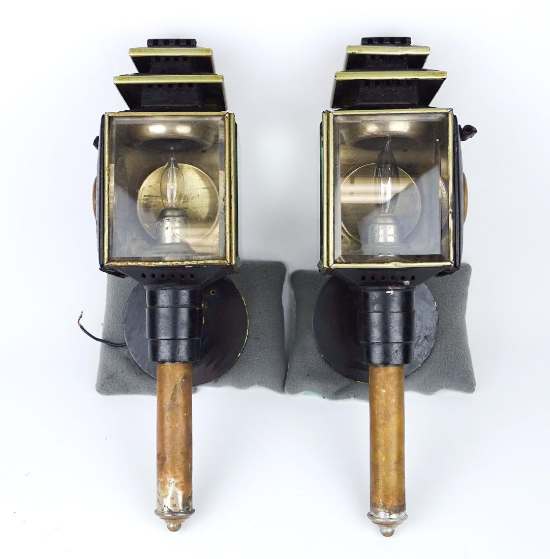 Pair Carriage Lamps