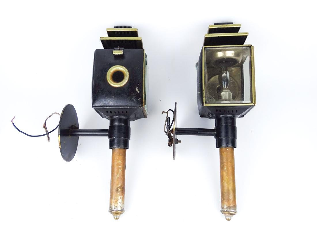 Pair Carriage Lamps - 5