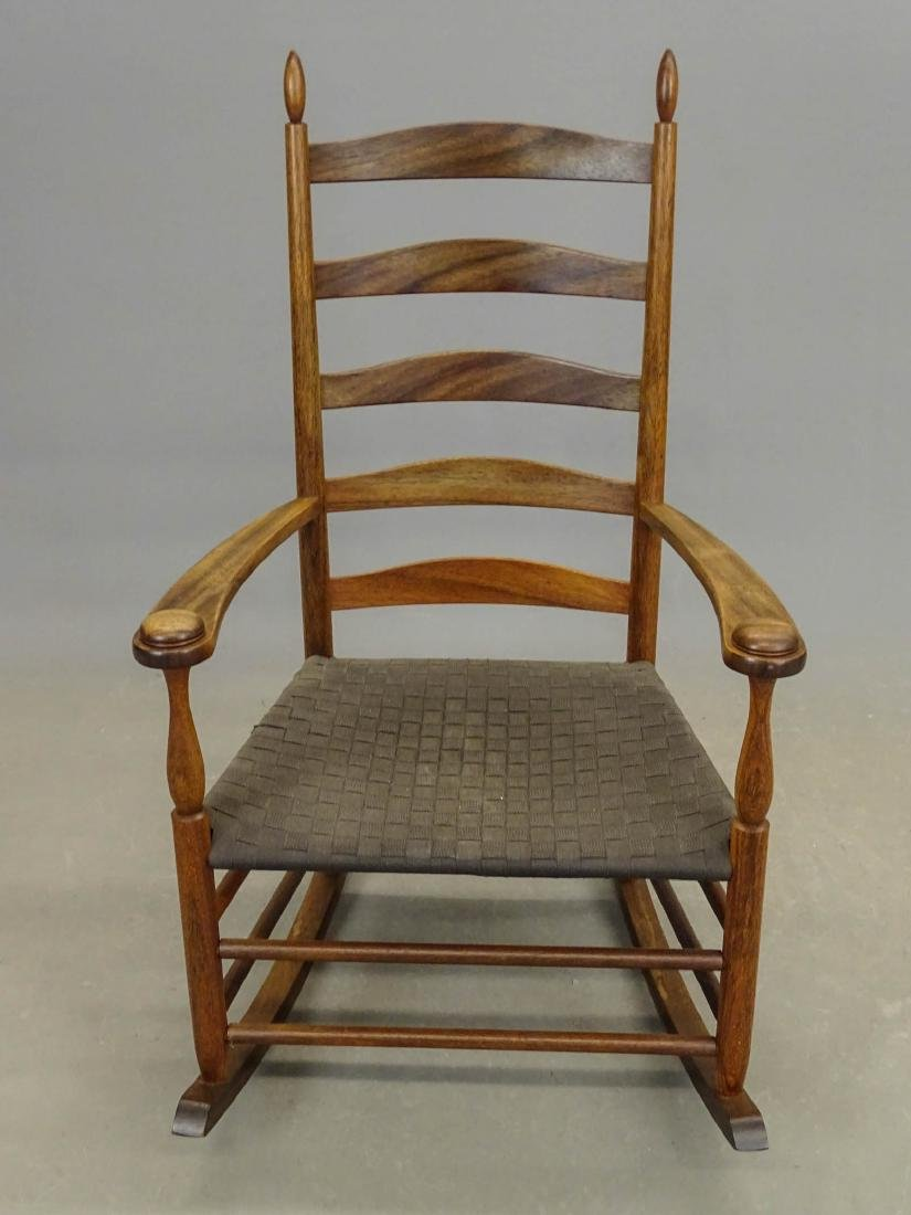 Shaker Style Rocking Chair - 3