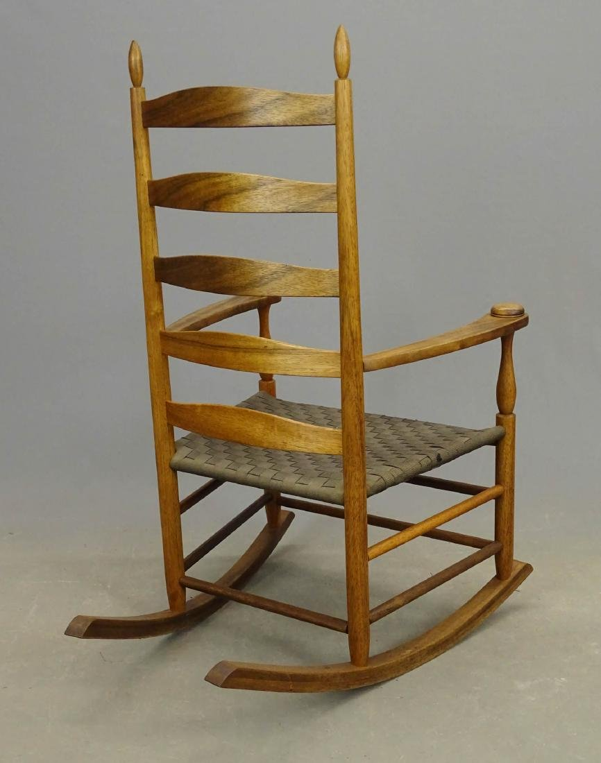 Shaker Style Rocking Chair - 4