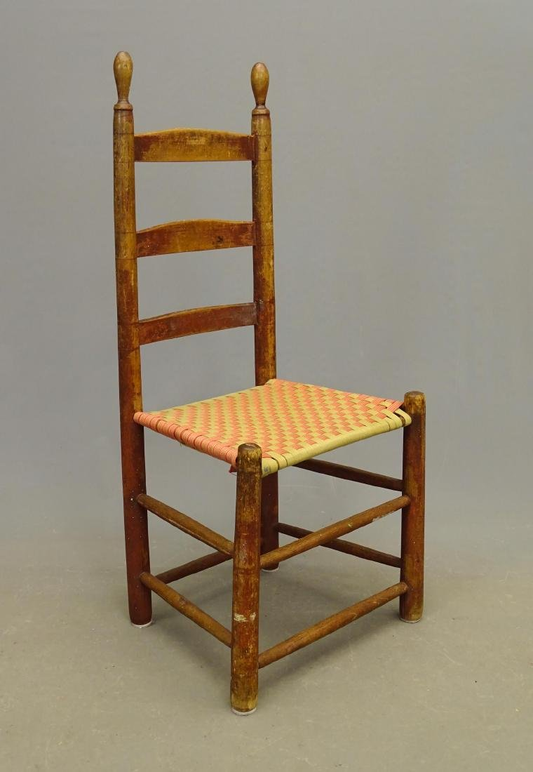19th c. Shaker Side Chair
