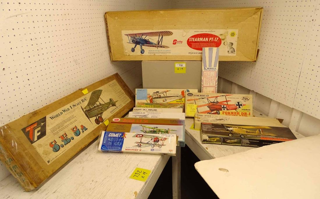 Collection Of Model Kits