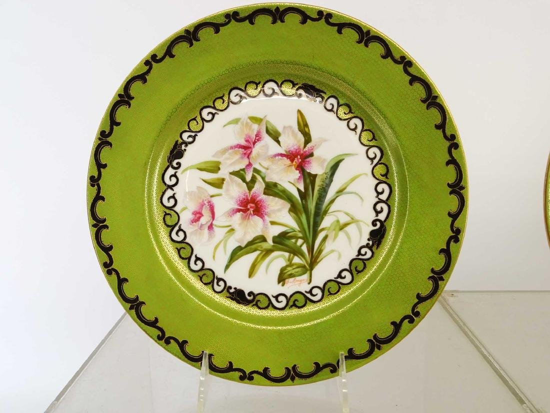 Set Of Limoges Plates - 2