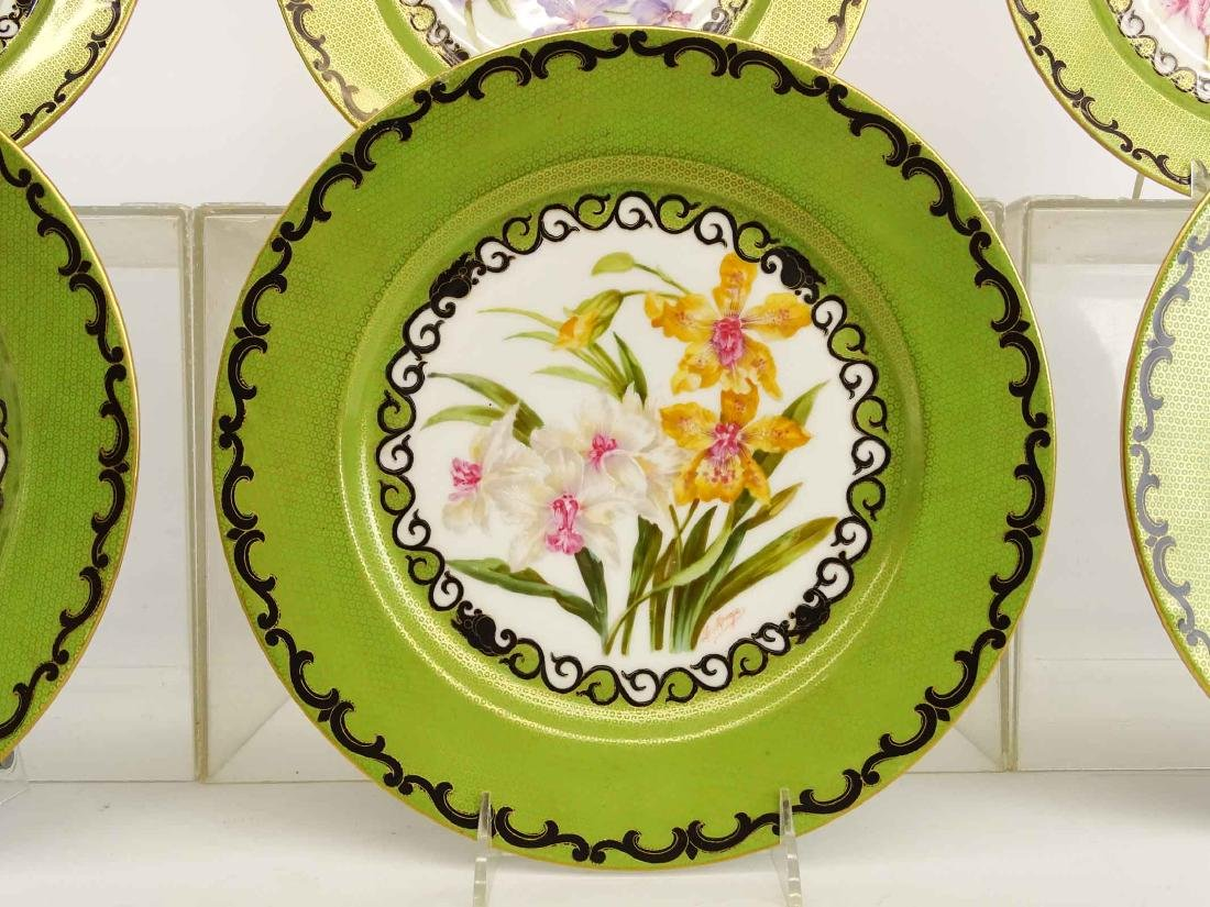 Set Of Limoges Plates - 7