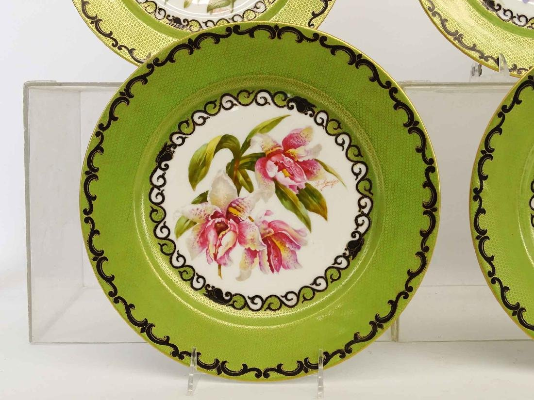 Set Of Limoges Plates - 8