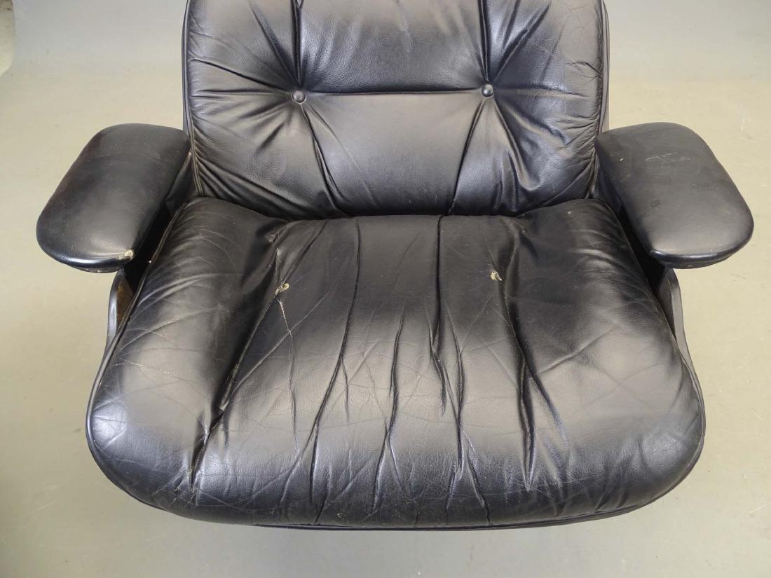 Eames Style Lounge Chair & Ottoman - 8
