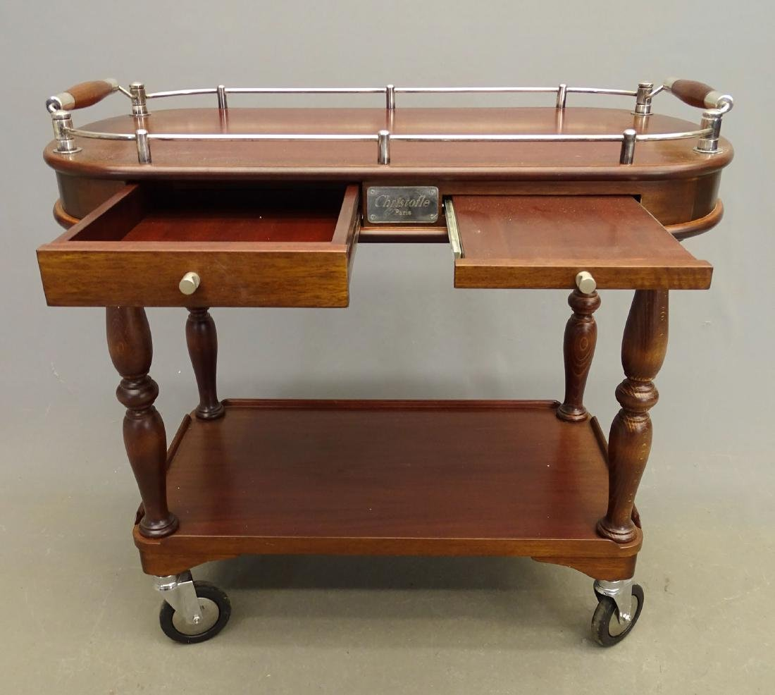 Christofle Serving Trolley - 3