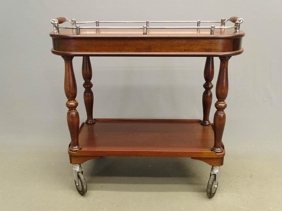 Christofle Serving Trolley - 4