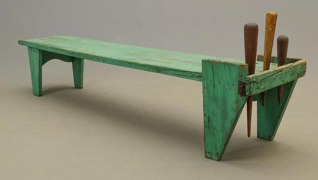 19th c. Cobblers Bench - 5