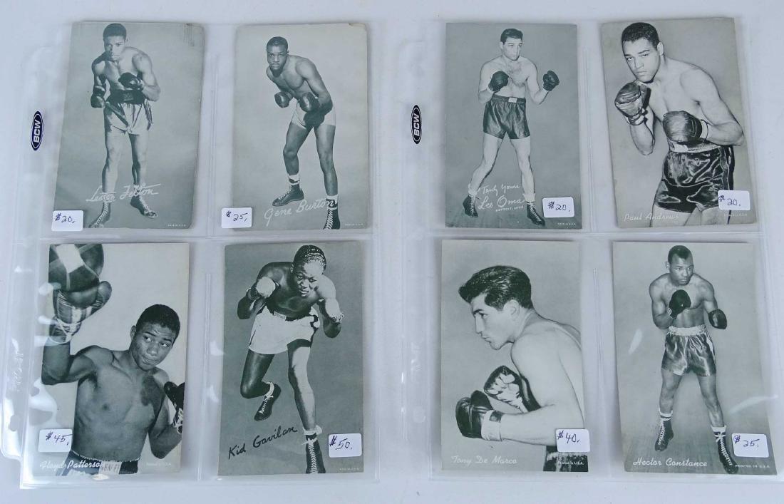 Arcade Exhibit Boxing Cards