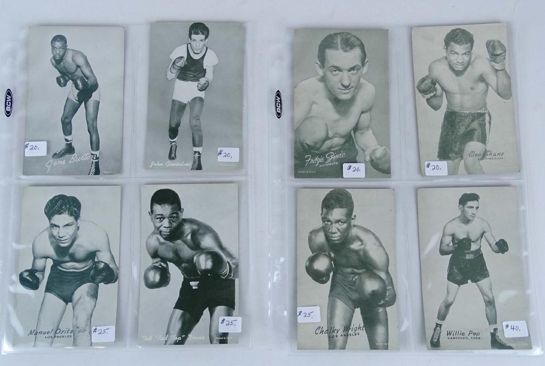 Arcade Exhibit Boxing Cards - 2