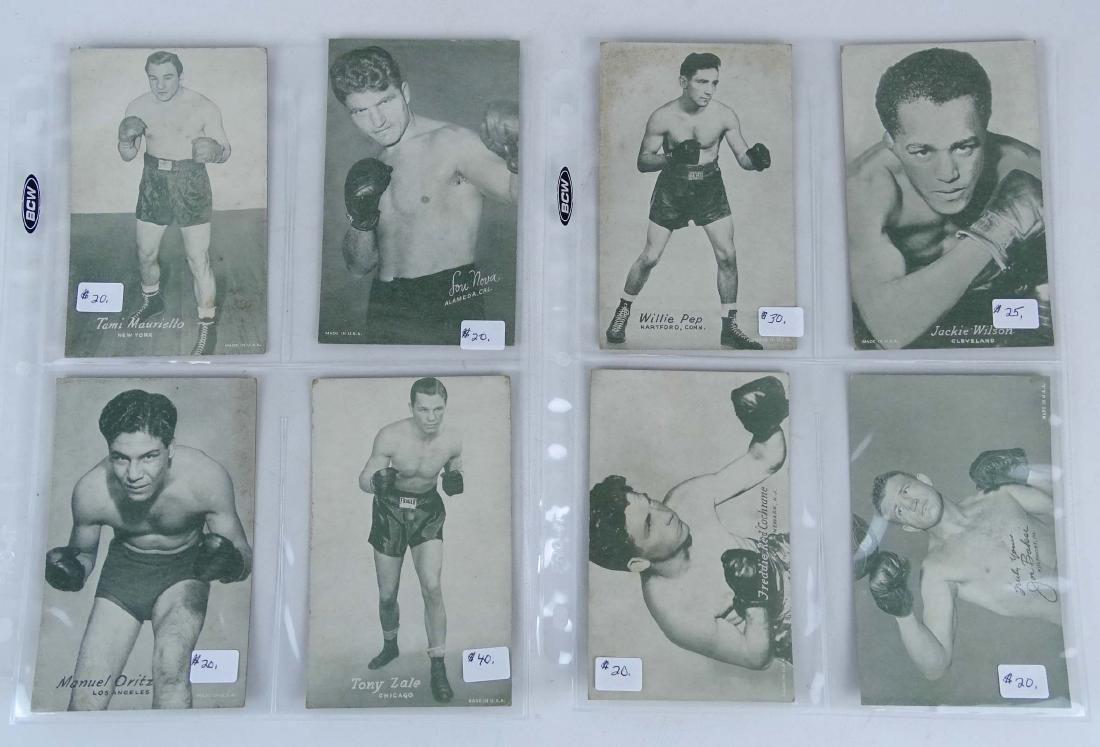 Arcade Exhibit Boxing Cards - 3
