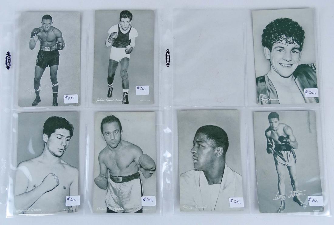 Arcade Exhibit Boxing Cards - 5