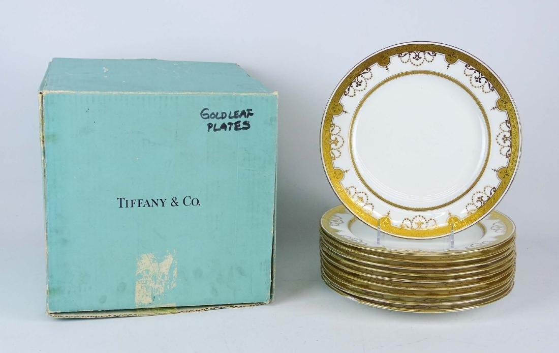 Set Of Tiffany Dinner Plates