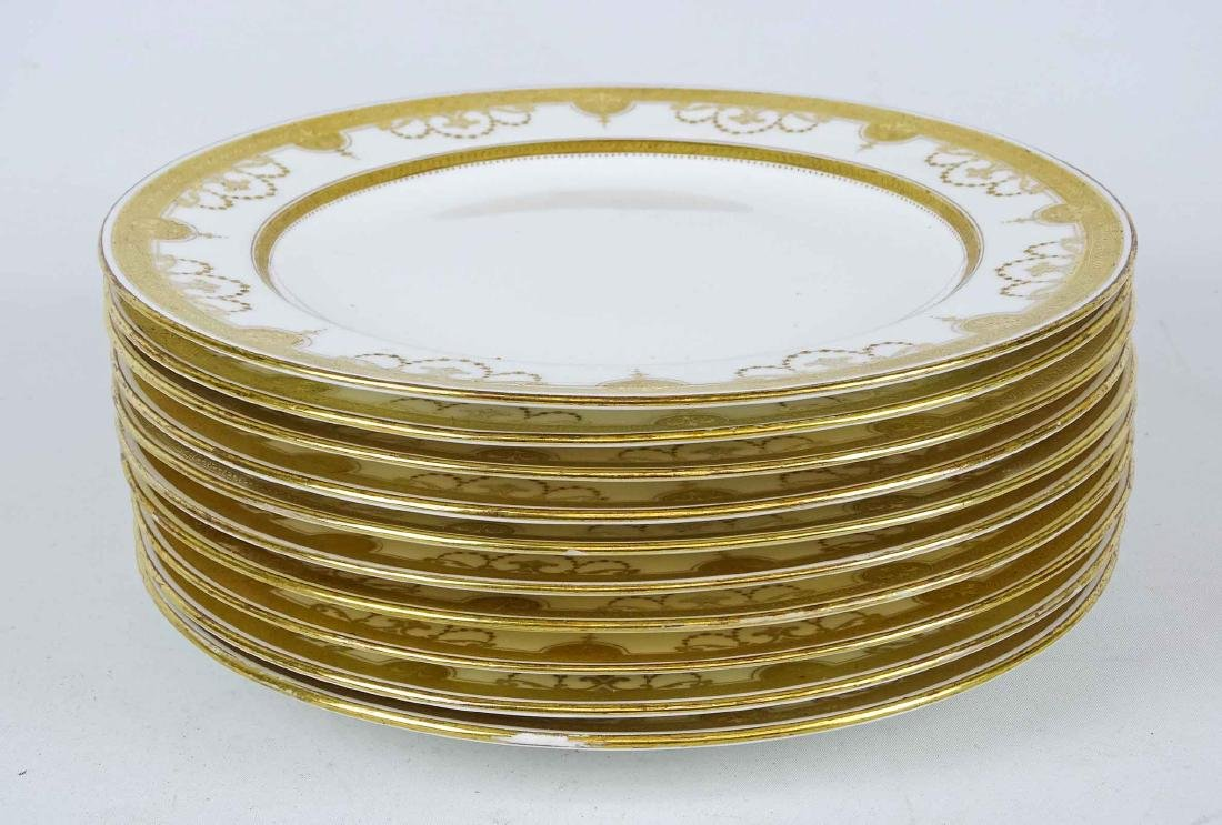 Set Of Tiffany Dinner Plates - 5