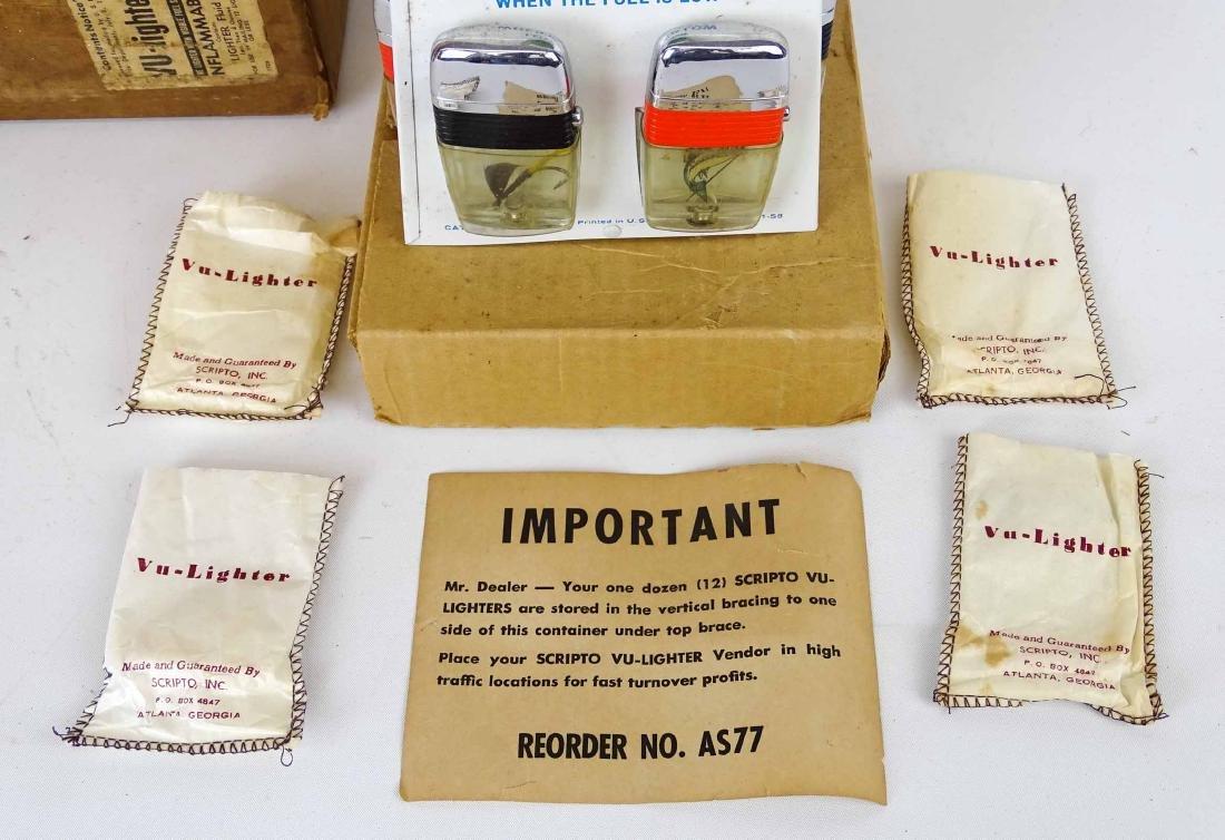 Vintage Scripto Lighter Display - 2